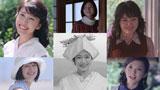 豪華女優陣が出演する『TSUBAKI』(資生堂)新CM(左上から時計まわりに)竹内結子、広末涼子、仲間由紀恵、田中麗奈、蒼井優、鈴木京香