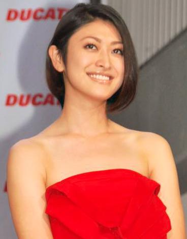 『ムルティストラーダ1200』日本発売記念イベントに出席した山田優 (C)ORICON DD inc.