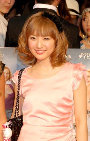 映画『SEX AND THE CITY2』のジャパンプレミアに出席した神田沙也加