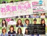 """読者モデル365人が""""靴飛ばし""""で天気を占うWebサイト『Chiyoda×Tokyo graffiti お天気ガールズ』"""