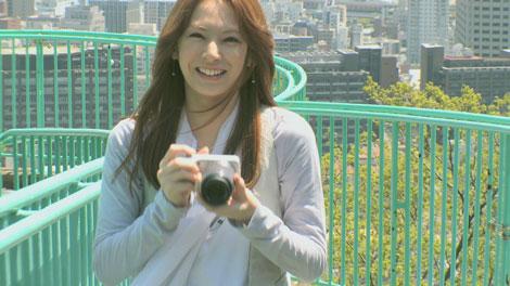 Webサイトでは北川景子が出演する『α』(ソニー)のCM撮影の裏側に密着