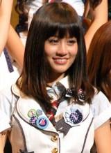 AKB48『第2回 選抜総選挙』2位の前田敦子 (C)ORICON DD inc.