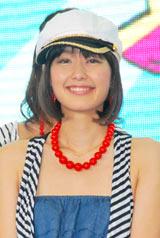 『お台場合衆国2010 〜笑うBayには福きたる!!〜』の制作発表会見に出席した中村仁美アナウンサー
