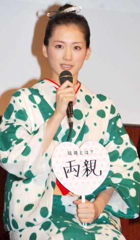 【テレビ】綾瀬はるか、「そういうことはございません」と大沢たかおとの熱愛報道を否定・・・ドラマ「ホタルノヒカリ2」制作発表会見