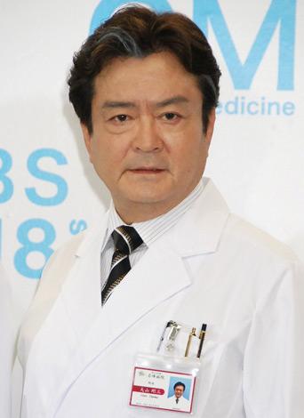 ドラマ『GM〜踊れドクター』(TBS系)の制作発表会見に出席した大和田伸也 (C)ORICON DD inc.