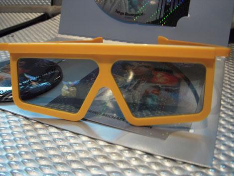 7月1日より期間限定で復活する東京ディズニーランドアトラクション『キャプテンEO』で装着する3Dメガネ (C)ORICON DD inc.