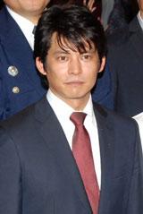 『踊る3』初日舞台あいさつに登壇した織田裕二(C)ORICON DD inc.