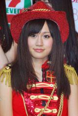 AKB48『サプライズはありません』のコンサート前に意気込みを語る前田敦子(C)ORICON DD inc.