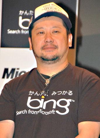 マイクロソフトの検索サービス『Bing』のPRイベントに出席したケンドーコバヤシ (C)ORICON DD inc.