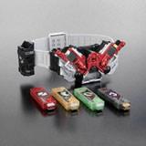 『日本おもちゃ大賞2010』のキャラクター・トイ部門に選ばれた『仮面ライダーW 変身ベルト DXダブルドライバー』(バンダイ)