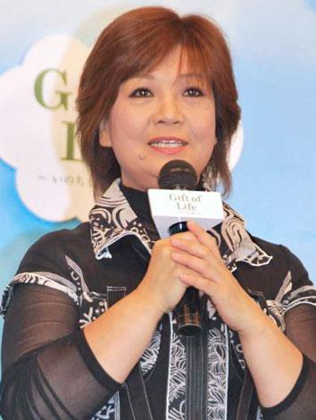『Gift of Life プロジェクト』オープニングセレモニーに出席した松原のぶえ (C)ORICON DD inc.
