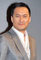 映画『インセプション』の特別試写会にサプライズで登場した渡辺謙
