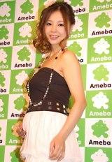 インリン・オブ・ジョイトイが第1子を出産 ※写真は今年2月 妊娠5か月時の様子