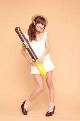 女子力UPサイト『Pocky Chocot Link(ちょこっと・リンク)』に参加する人気読者モデルの菅野結以(Photo:鈴木健太)