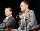 映画『インセプション』の来日会見を行った(左から)レオナルド・ディカプリオ、渡辺謙 (C)ORICON DD inc.