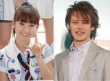 熱愛報道があったAKB48・大島優子(左)とウエンツ瑛士 (C)ORICON DD inc.