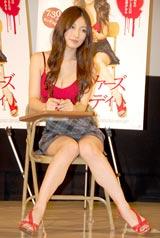 、映画『ジェニファーズ・ボディ』の公開イベントに出席した熊田曜子