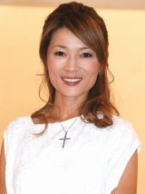 NHKドキュメント番組『ファミリーヒストリー』の収録後会見を行ったマルシア (C)ORICON DD inc.