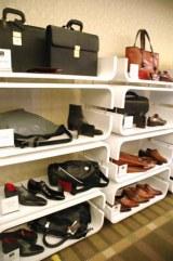 銀座三越の増床部分オープンに伴い概要を発表、紳士服・雑貨を取り扱う7階「メンズビジネス&カジュアル」でもスタイリッシュなアイテムを多数揃え、男性客の取り込みにも力を入れる (C)ORICON DD inc.