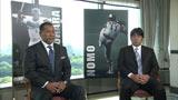 引退後、初対談が実現した(左から)清原和博、野茂英雄