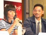 映画『ベスト・キッド』PRのために来日したプロデューサーのウィル・スミス&ジェイダ・ビンケット・スミス夫妻 (C)ORICON DD inc.