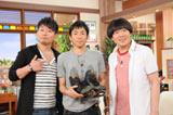 大阪・関西テレビ『雨上がり食楽部』に出演した織田信成選手(中央)