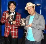 """映画『シャッター アイランド』のDVD&Blu-ray宣伝部""""謎かけ""""部長就任式に出席したWコロン (C)ORICON DD inc."""