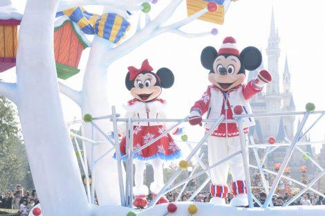 東京ディズニーランドのクリスマスイベント(イメージ) (C)Disney