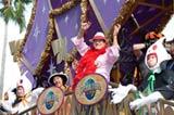 『ユニバーサル・ハロウィーン・カーニバル』のプレスプレビューにゲスト出演したアントニオ猪木(写真提供:ユニバーサル・スタジオ・ジャパン)