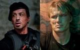 映画『エクスペンダブルズ』に出演するシルベスター・スタローン(左)とドルフ・ラングレンの来日が決定 (C)2010 ALTA VISTA PRODUCTIONS, INC