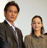 親娘役の宅麻伸と加藤ローサ (C)ORICON DD inc.