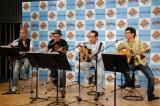 4人はサプライズでかぐやひめの名曲「神田川」を披露 (C)ORICON DD inc.