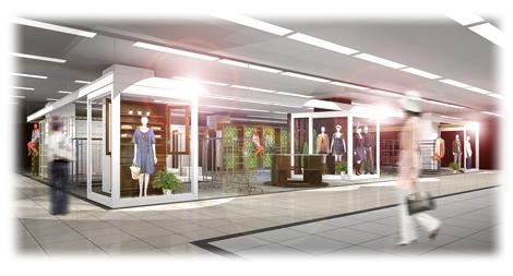 ドン・キホーテ初のホールセールクラブ『WR岸和田店』のセレクトファッション売り場イメージ図