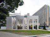 2010年度『グッドデザイン賞』大賞候補に選ばれたヒビヤカダン日比谷公園店(日比谷花壇)