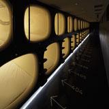 2010年度『グッドデザイン賞』大賞候補に選ばれたカプセルホテル『9h』(キュービック)