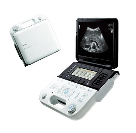 2010年度『グッドデザイン賞』大賞候補に選ばれた超音波画像診断装置『FAZONE GB』(富士フィルム)