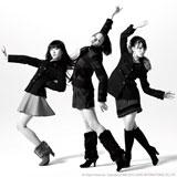 新CMに出演するPerfume(左から)かしゆか、のっち、あ〜ちゃん