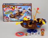 黒ひげ、35年目でついにタルを脱出! 『黒ひげ危機一発 ゆらゆら海賊船ゲーム』 (C)TOMY