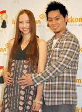 柳楽優弥&豊田エリー夫妻に第1子となる女児が誕生 (※写真は、妊娠5か月時揃って登場したイベントの模様) (C)ORICON DD inc.