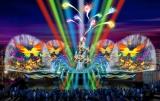 4月23日にスタートするナイトショー『ファンタズミック!』のイメージ (C)Disney