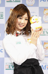 かつて大ブレイクした「こりん星」に対して、別れを告げた小倉優子