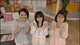 日本テレビ系バラエティ番組『ゲーマーズTV 夜遊び三姉妹 〜今夜も上上下下左右左右BA〜』に出演する(左から)加藤夏希、小池里奈、光浦靖子