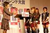『第23回小学館DIMEトレンド大賞』の話題の人物賞を受賞したAKB48