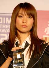 『第23回小学館DIMEトレンド大賞』の発表・贈賞式に出席したAKB48・大島優子