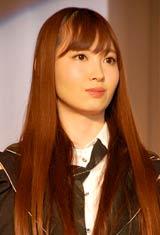 『第23回小学館DIMEトレンド大賞』の発表・贈賞式に出席したAKB48・小嶋陽菜