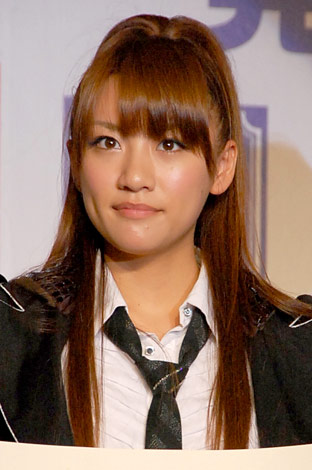 『第23回小学館DIMEトレンド大賞』の発表・贈賞式に出席したAKB48・高橋みなみ (C)ORICON DD inc.