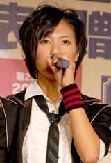 『第23回小学館DIMEトレンド大賞』の発表・贈賞式に出席したAKB48・宮澤佐江
