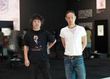 対談を行った市川海老蔵と茂木健一郎氏(左)