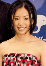 『スカパー!アワード2010』ブルーカーペットに登場した片岡安祐美選手