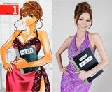 ドラマ『美咲ナンバーワン!!』で元キャバ嬢の女教師を演じる香里奈 (c)日本テレビ